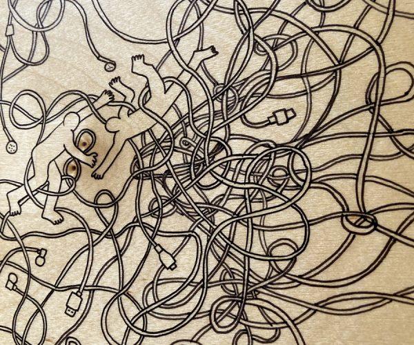 S. RAYNAL, La Boîte à Câbles, 2021