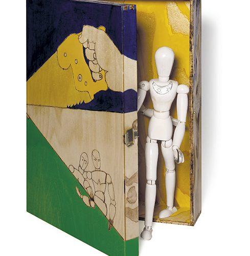 M.F. RAYNAUD, Une boîte, 2021